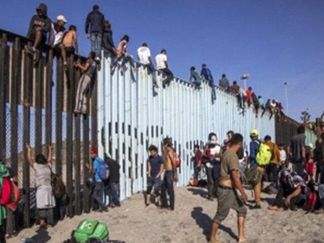 EEUU: en un año fueron detenidos casi un millón de migrantes en frontera con México