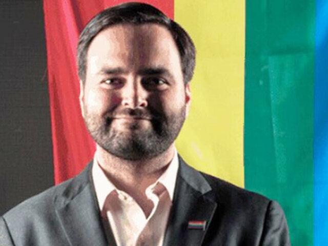 Alberto De Belaunde ganó premio internacional por su trabajo con comunidad LGTBI
