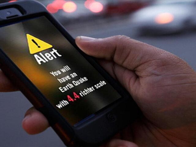 MTC implementará sistema para que peruanos reciban mensajes de alerta en emergencias