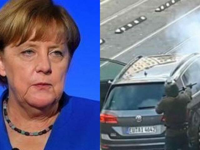 Alemania: Angela Merkel condena atentado de neonazi quien asesinó a dos personas