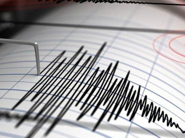 Sismo de magnitud 4.2 se registró esta madrugada en Arequipa