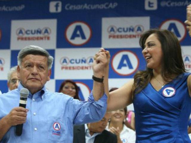 Marisol Espinoza negó alianza con FP o el Apra tras expulsión de APP