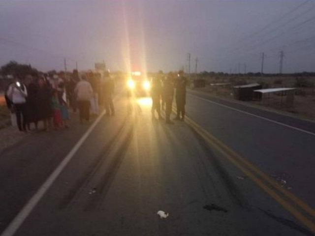 Lambayeque: mujer fallece tras ser atropellada por vehículo policial