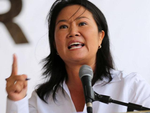"""Keiko Fujimori: """"No soy líder de una organización criminal, no he cometido delito alguno"""""""