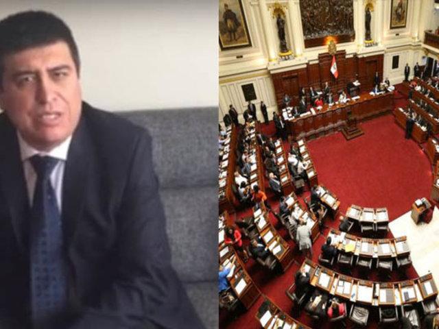 Ibo Urbiola: Los congresistas que criticamos fueron elegidos por voto popular