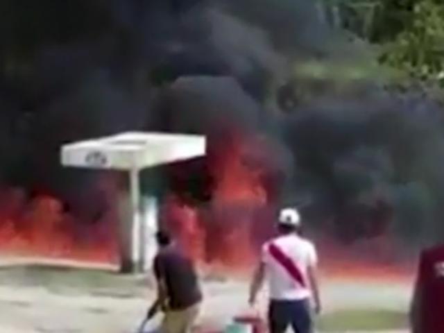 Amazonas: grifo se incendia y deja una persona muerta