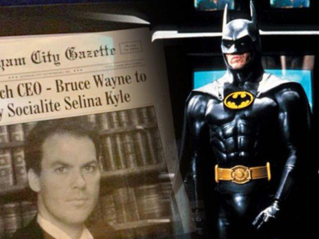 Michael Keaton se pondría nuevamente el traje de Batman