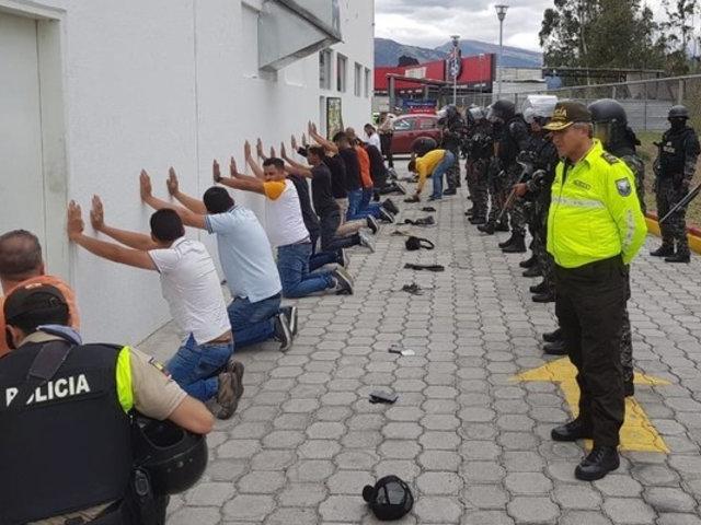 Ecuador: venezolanos detenidos con supuesta información de Moreno eran taxistas