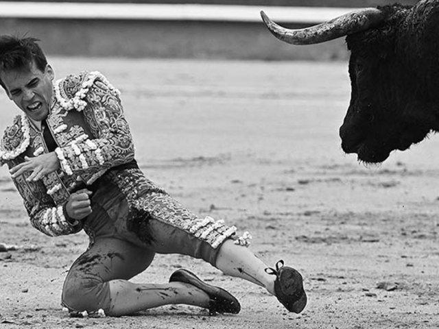 Impactantes imágenes: torero Gonzalo Caballero sufre grave cornada