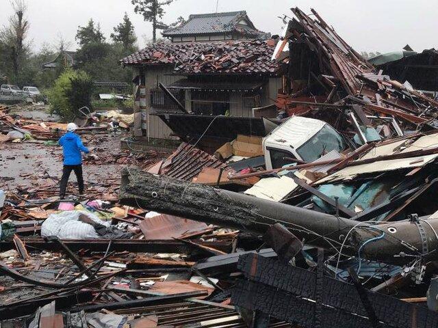 Japón: se elevó a 23 el número de muertos tras paso del tifón Hagibis