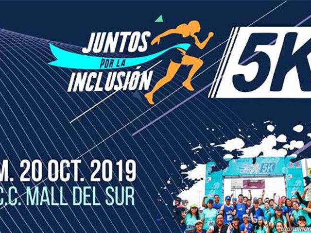 """""""Juntos por la inclusión"""": Maratón 5K para personas con discapacidad"""