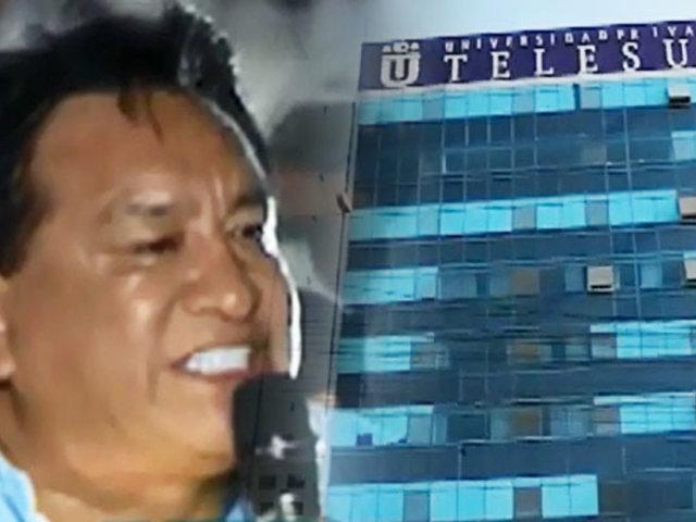 Telesup y José Luna: excongresista usaba universidad como soporte financiero