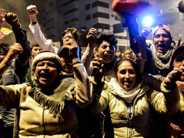 Ecuador: Moreno deroga los ajustes económicos y los indígenas levantan protesta
