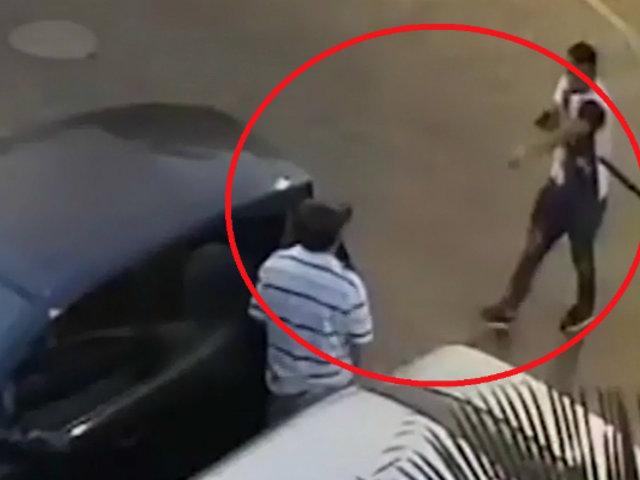 San Isidro: delincuente amenaza con un arma a vecino para robarle reloj y anillo