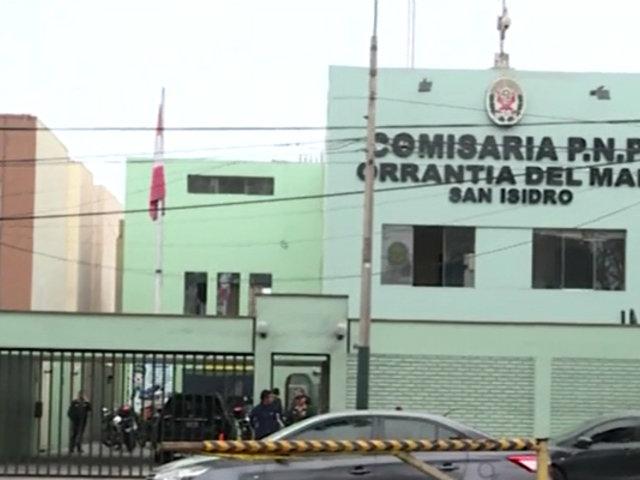 San Isidro: recién casados pasan noche de bodas en comisaría