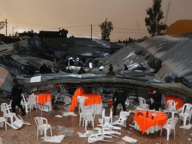 Huancayo: local donde fallecieron al menos 6 personas no tenía certificado de Defensa Civil