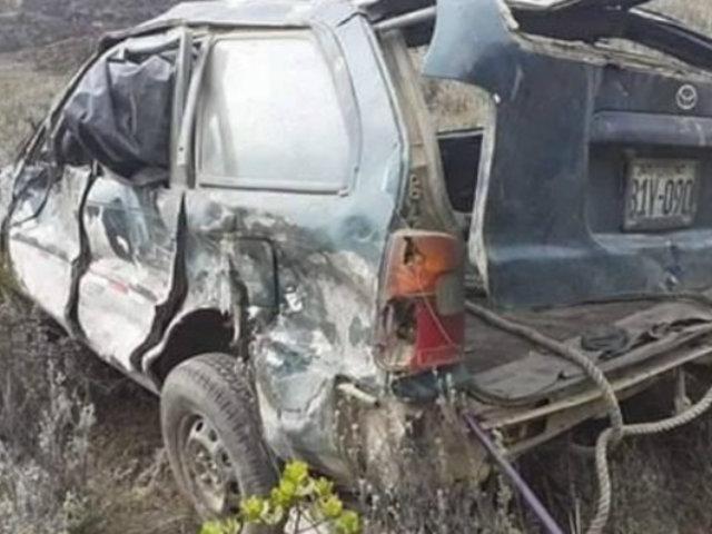 La Libertad: un muerto dejó colisión entre auto y camión en Pataz