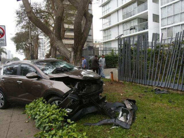 Javier Prado: PNP resolvió que conductora manejaba a excesiva velocidad