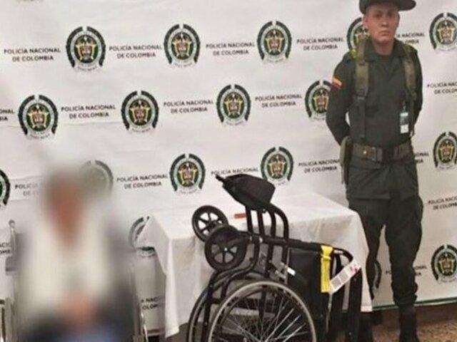 Anciana de 81 años fue detenida por esconder droga en su silla de ruedas