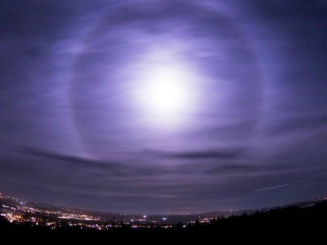 El impresionante fenómeno lunar que 'hipnotiza' a los británicos