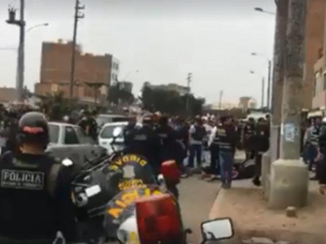 Callao: Policía captura a 'marcas' que pretendían asaltar banco