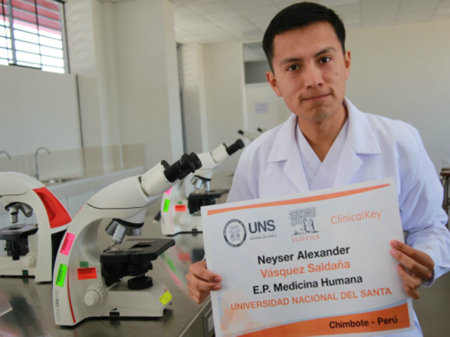 Joven peruano entre los mejores estudiantes de medicina del mundo