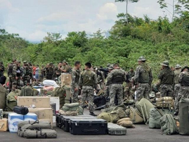 Amazonas: PNP y FF.AA. realizan operativo contra minería ilegal