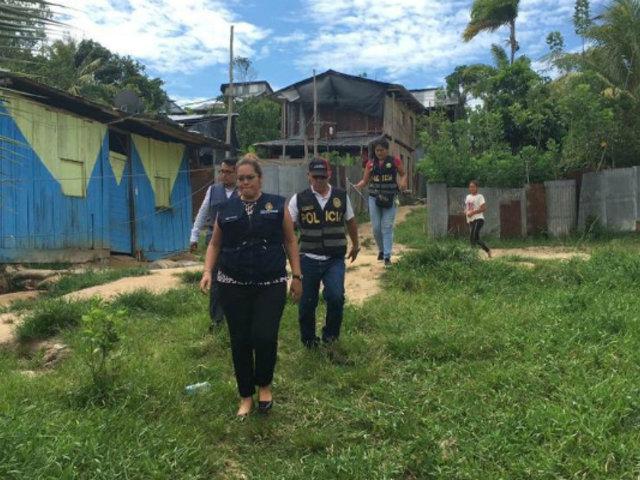 Iquitos: rescatan a menor con habilidades diferentes que fue hallada atada