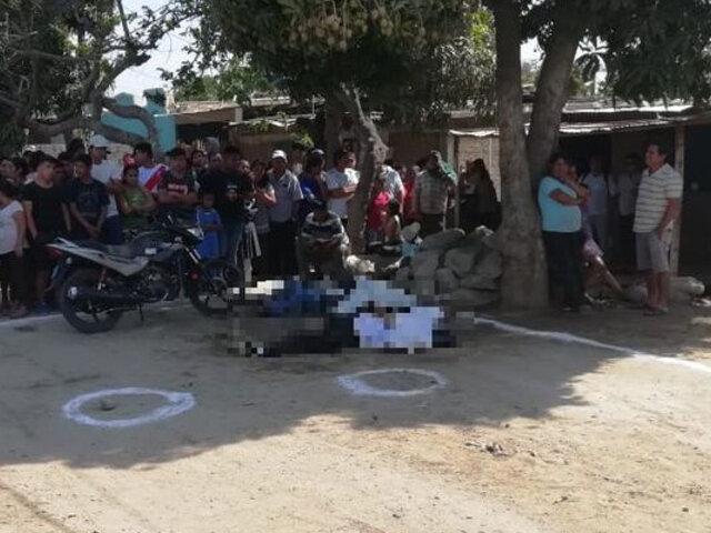 Profesores son asesinados a balazos en región La Libertad
