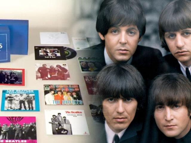 Los Beatles: lanzan colección limitada de sus singles en vinilo