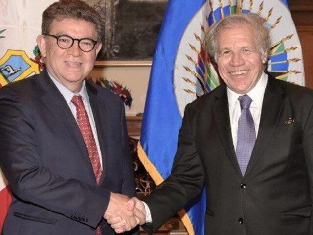 OEA enviará misión de observación para las elecciones congresales del 2020
