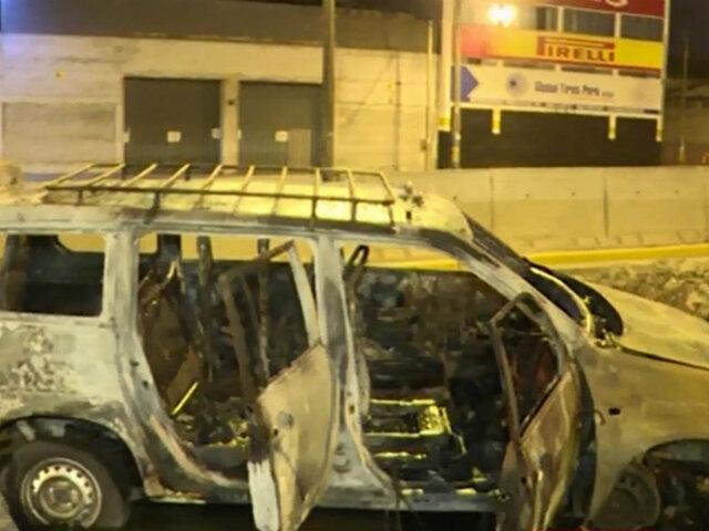 San Luis: dos hombres resultan heridos al caer vehículo a zanja