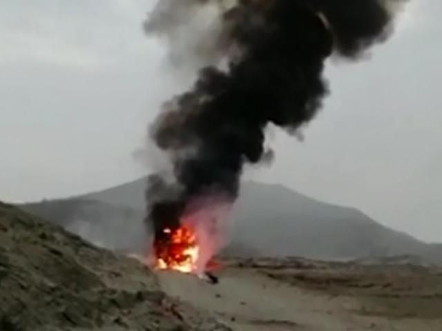 Chimbote: camión de basura fue reducido a cenizas tras incendio