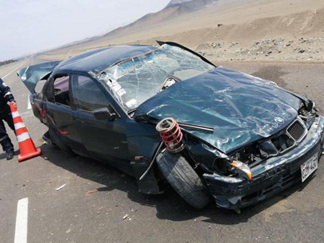 Despiste de vehículo deja dos muertos y dos heridos en Huarmey