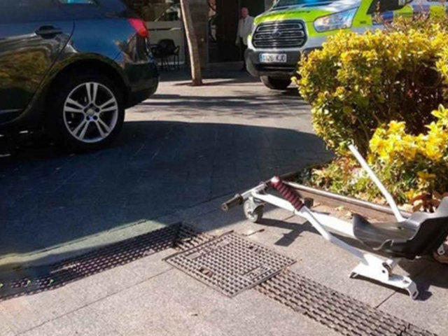 Niño fue atropellado cuando se movilizaba en un scooter 'modificado'