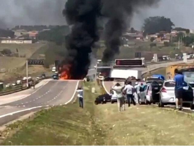 Brasil: tres delincuentes abatidos dejó asalto en aeropuerto