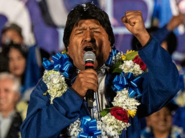 Bolivia: Evo Morales figura como favorito para ganar elecciones presidenciales