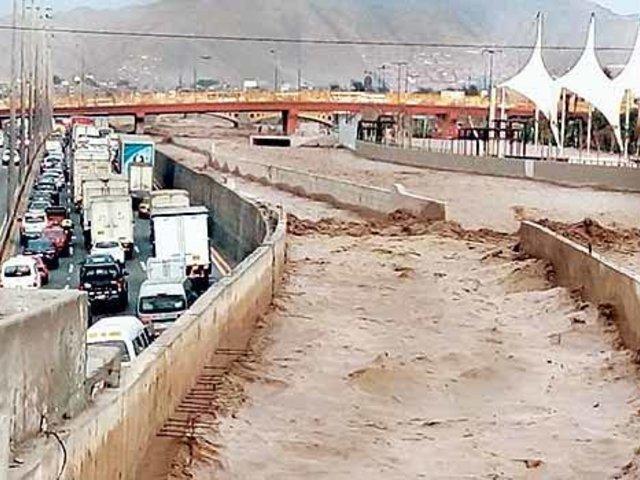 Línea Amarilla: realizan obras de protección en río Rímac para evitar deslizamientos
