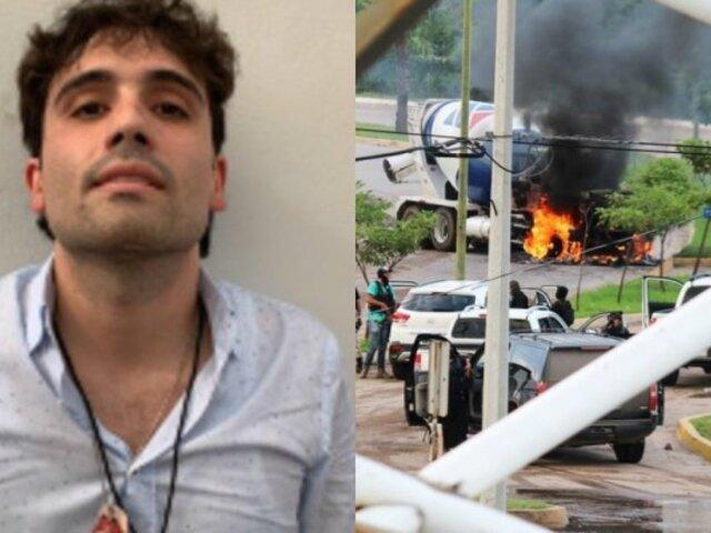 México: liberan al hijo de ''El Chapo'' Guzmán tras ser capturado en Culiacán