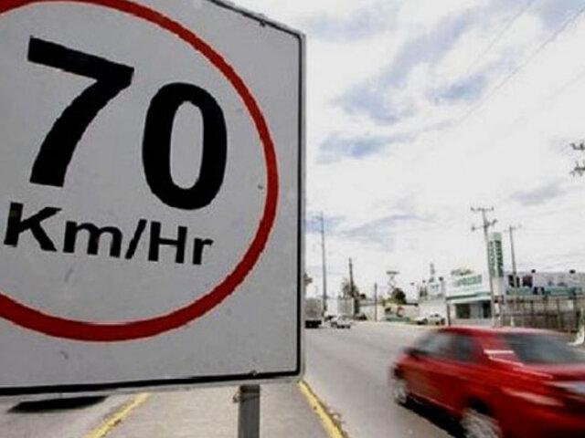 Municipalidad de Lima implementará medidores de velocidad en Av. Javier Prado