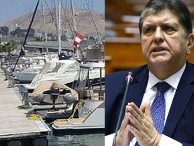 Equipo Lava Jato inspecciona embarcadero de Alan García en Costa Verde
