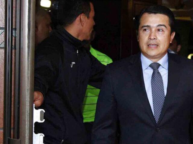 Hermano del presidente de Honduras fue declarado culpable por narcotráfico