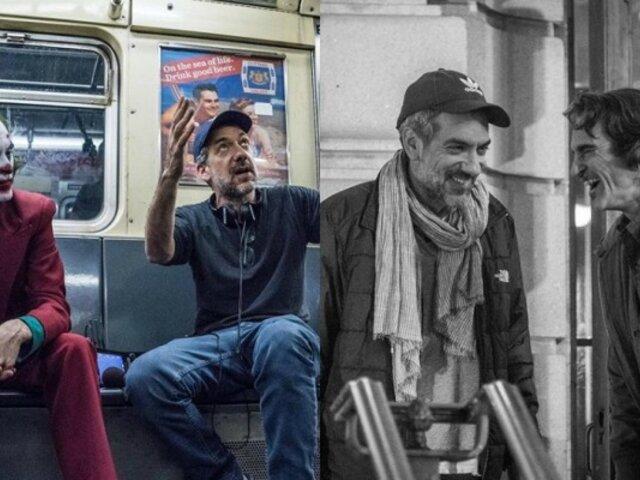 ''Joker'': director de la película publica nuevas fotos del detrás de cámaras