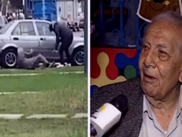 Anciano que fue asaltado pide que recuperen su sueldo arrebatado