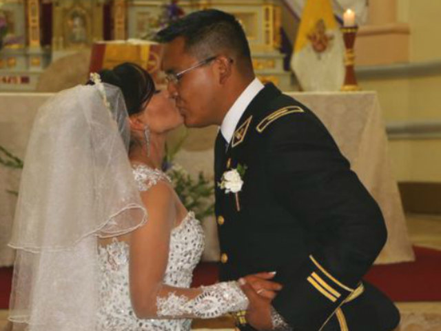 Huancayo: La atleta Inés Melchor se casó por religioso