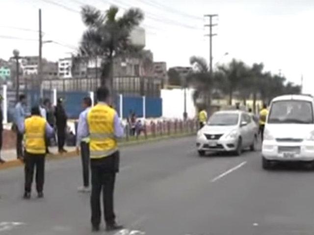 Chorrillos: atropellan a inspectora durante operativo contra vehículos informales