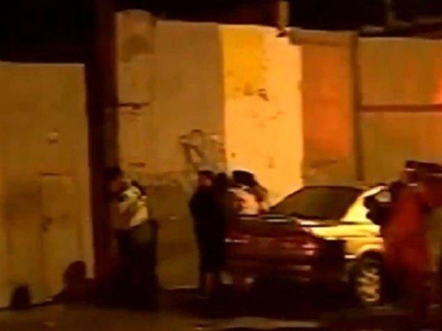 San Miguel: incendio en depósito dejó un muerto y cuatro heridos