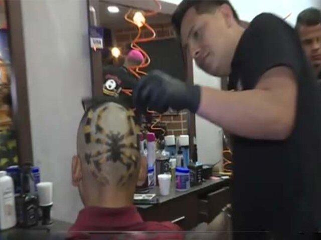 Barberos venezolanos marcan la moda y los estilos en Lima