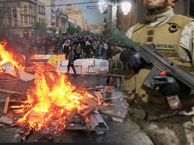 Chile: disturbios dejan al menos tres muertos y 716 detenidos
