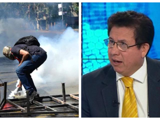 """Rodríguez Mackay: """"Las fuerzas armadas se han vuelto vulnerables al plan interno de Chile"""""""
